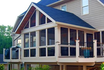 Screened Porch Peach Tree Decks & Porches Atlanta, GA