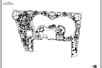 backyard landscaping plan