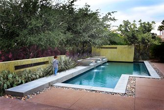 Modern Pool Built In Arizona Landscaping Network