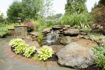 Naturalistic Waterfall