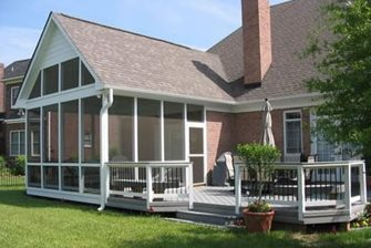 Screened Porch, Low Deck Walkway and Path Archadeck of Fort Wayne Ft. Wayne, IN