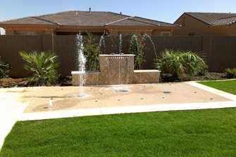 luxury splash pad