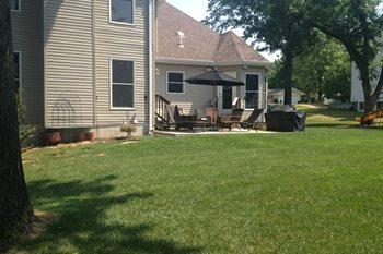 Backyard Before Artistic Group Inc. St. Louis, MO