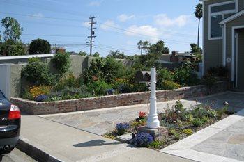 Planter After Creations Landscape Design Tustin, CA