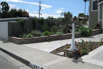 Planter Before Creations Landscape Design Tustin, CA