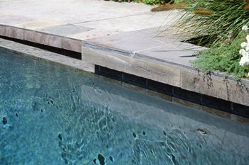Slate Pool Tile Maureen Gilmer Morongo Valley, CA