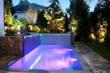 Swimming Pool Fiber Optics Cipriano Landscape Design Mahwah, NJ