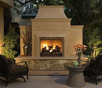 Precast Outdoor Fireplace