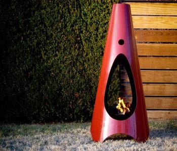 Handcrafted Patio Fireplaces