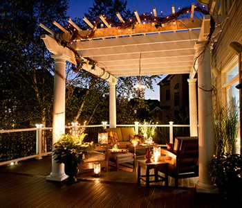 Pergola Kit Offers the Best of Both Worlds