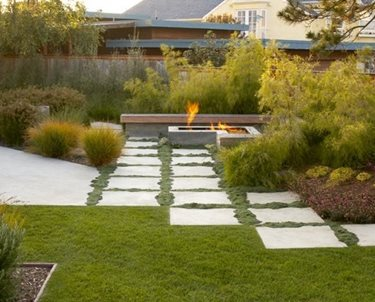 Front Yard Fire Pit Swimming Pool Jeffrey Gordon Smith Landscape Architecture Los Osos, CA