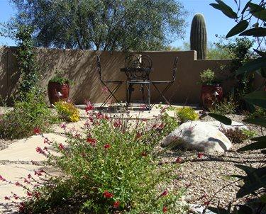 Small Patio, Desert Patio Swimming Pool Casa Serena Landscape Designs LLC Las Cruces, NM
