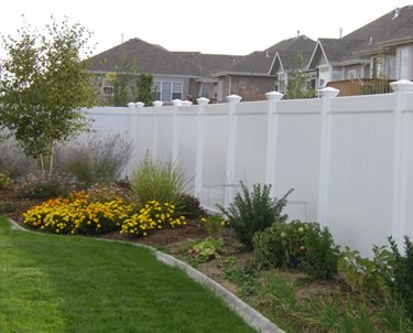 Solid Fence, Vinyl Fence Swimming Pool The Fence, Deck & Patio Company Houston, TX