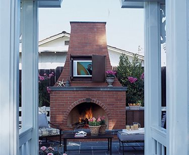 Outdoor Tv, Patio Fireplace David Reed Landscape Architects San Diego, CA