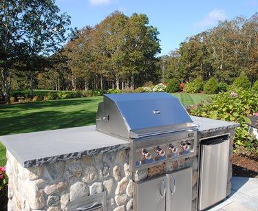 Massachusetts Outdoor Kitchen Landscaping Outdoor Kitchen O'Leary Landscaping Harwich, MA