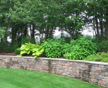 Block, Retaining Wall Cipriano Landscape Design Mahwah, NJ