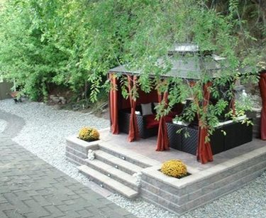 Covered Patio Land Works Landscaping Ltd. Kelowna, British Columbia