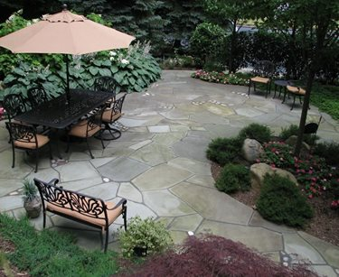 Crazy Paving Design Sitescapes Landscape Design Stony Brook, NY