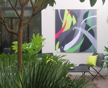 Create an Outdoor Art Gallery