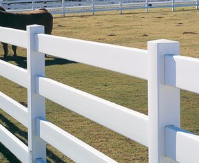 Four Rail Fence, Livestock Fence CertainTeed ,