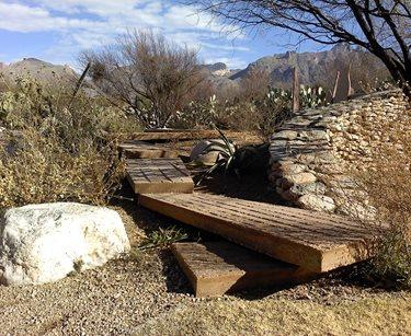 Xeriscaping, Bridge Boxhill Landscape Design Tucson, AZ