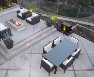 Back Patio, Outdoor Living, Concrete Swimming Pool Quality Living Landscape San Marcos, CA