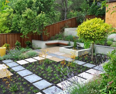 Huettl Landscape Architecture Swimming Pool Huettl Landscape Architecture Walnut Creek, CA