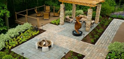 Wheelchair Accessible Backyard
