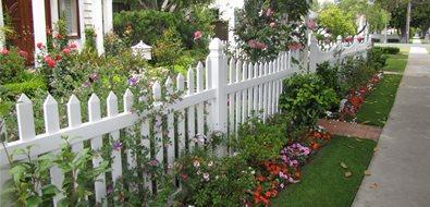 White, Fence