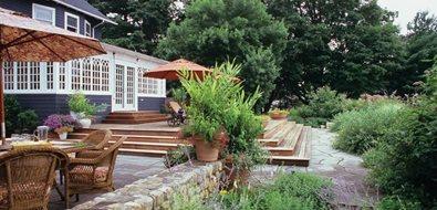 Colonial landscape ideas landscaping network for Westover landscape design