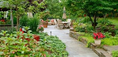 Walkway Northeast Landscaping Apple Hill Garden Design North Wales, PA