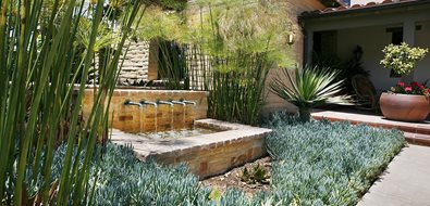Mediterranean Fountain Pond and Waterfall Landscape Development, Inc. Valencia, CA