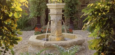 Outdoor Fountain Garden