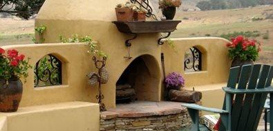 ... VA; Adobe Outdoor Fireplace Designs ...