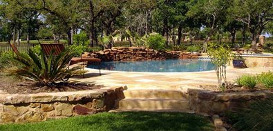 Austin Swimming Pool Landscaping