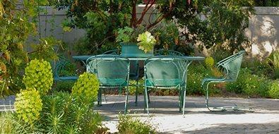 Green Patio Furniture Patio Brian Maloney Design Concord, MA
