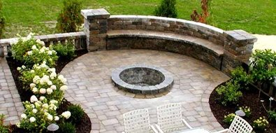 Fire Pit PB's Greenthumb Landscaping Williamsville, NY