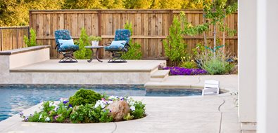Custom Wood Fence Simple Elegance Rocklin, CA