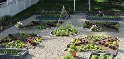 Potager, Kitchen Garden