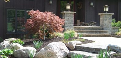 New York Landscaping Stonewood and Waters Mendon, NY