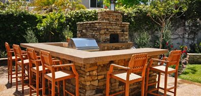Outdoor Pizza Oven Orange County Landscaping Oakbrook Landscape, Inc. Capistrano Beach, CA