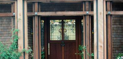 Front Yard Entryway Asian Landscaping Maureen Gilmer Morongo Valley, CA