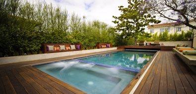 Pool Deck Los Angeles Landscaping Z Freedman Landscape Design Venice, CA