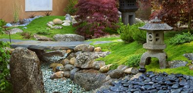asian landscaping grace design associates santa barbara ca - Garden Ideas Japanese
