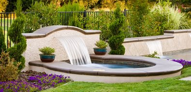 Custom Sheer Descent Fountain Recently Added Simple Elegance Rocklin, CA