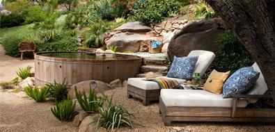 Cedar Spool Spas Grace Design Associates Santa Barbara, CA