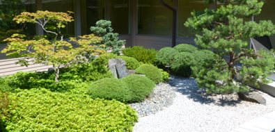 Zen, Japanese, Garden, Plants Asian Landscaping Zoen Sekkei-sha + Associates Lake Forest, IL