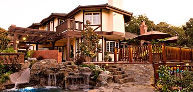 Remodeled Backyard Landscape Lifescape Designs Simi Valley, CA