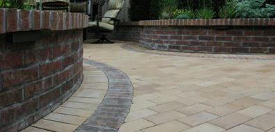 Paver Pattern, Brick Band Paving Arcadia Design Group Centennial, CO