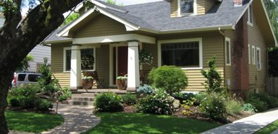 Front Of House Landscape Ideas Curb Appeal Porches